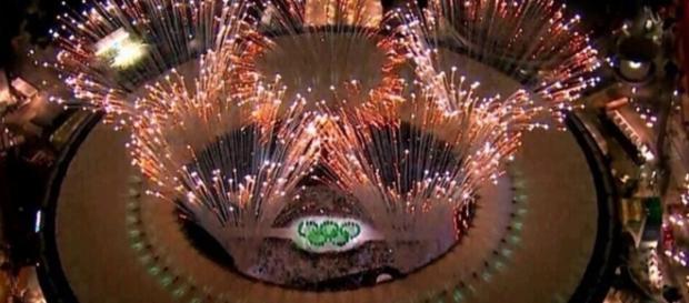 Rio-2016: show lindo na abertura dos Jogos