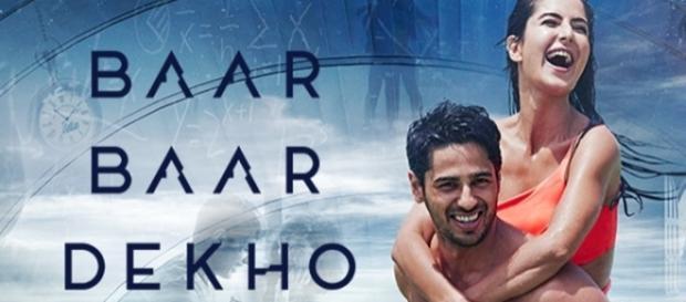 Sidharth Malhotra & Katrina Kaif in 'Baar Baar Dekho' (Youtube screengrab)