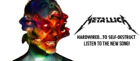 La nuova copertina di Harwired..to self-descruct in uscita con la nuova canzone
