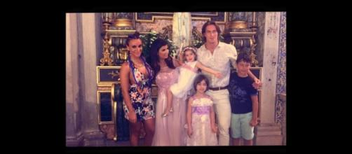 A festa do Baptizado de Yasmin