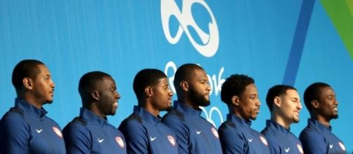 Kevin Durant helps team USA to first win. theundefeated.com