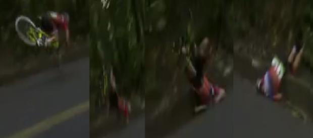 Atleta sofre acidente grave no ciclismo