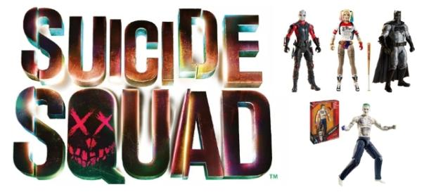 Suicide Squad toys and action figures from Mattel - Image via www.shop.mattel.com used with permission