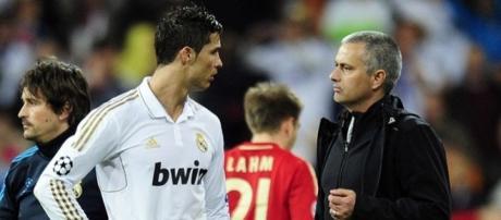 Cristiano Ronaldo e Mourinho têm uma péssima relação