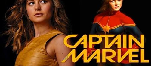 La actriz Brie Larson ya prepara su papel para la inminente llegada de 'Captain Marvel'