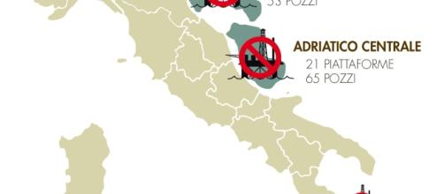 La mappa del dossier di Legambiente #Dismettiamole