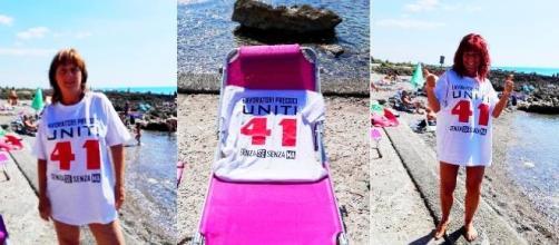 Riforma pensioni, la voce dei lavoratori precoci si fa sentire anche in spiaggia