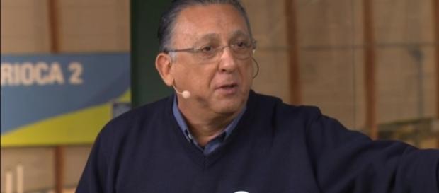 Galvão Bueno criticou o futebol masculino brasileiro