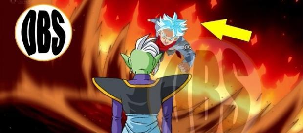 imagen referencial de la batalla de trunks