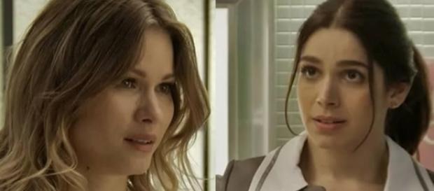 Jéssica quer se livrar de Shirlei (Divulgação/Globo)
