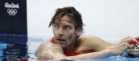 El nadador francés Camille Lacourt tras su final