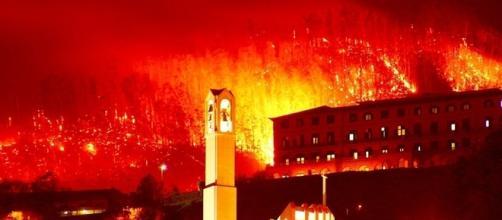 Incêndio está há dois dias a destruir a zona alta do Funchal