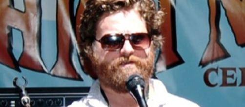 Zach Galifianakis huge weight loss. Source: Wikimedia User Cameron Parkins