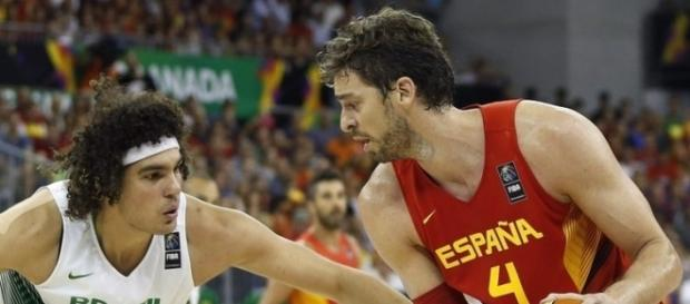 España cae derrotado ante el equipo de Brasil