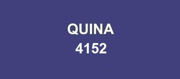 Resultado da Quina 4152 com prêmio de R$ 500 mil