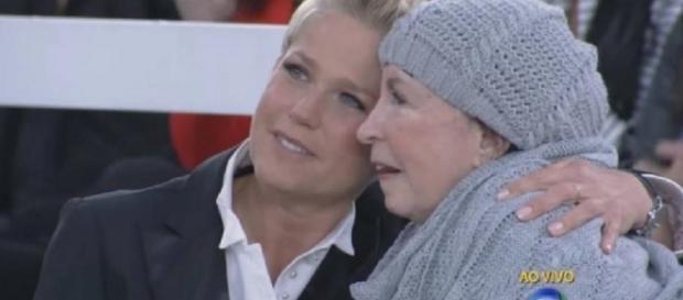 Xuxa e Alda em programa daRecord