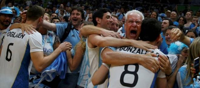 Hazaña del voley argentino en Río