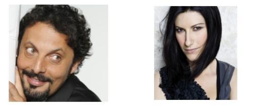 Enrico Brignano e Laura Pausini su Canale 5
