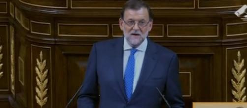 Mariano Rajoy en el debate de investidura