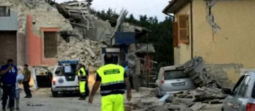 Terremoto en la localidad de Amatrice, Italia