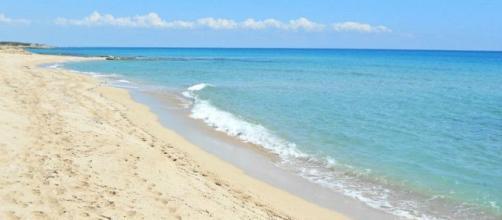 Un trtto di litorale a Campomarino, frazione di Maruggio (Taranto)