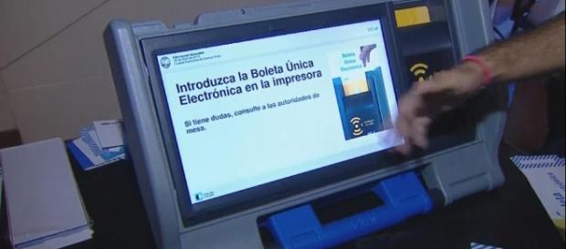 El voto electronico se quiere implementar en todo el país