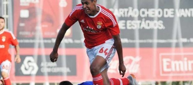 Francisco Vera ao serviço do Benfica B