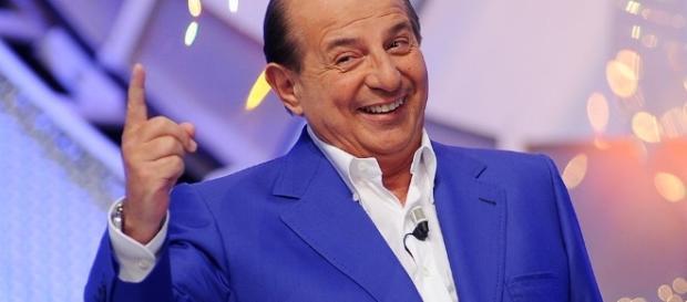 """Giancarlo Magalli, torna con i """"Fatti Vostri"""" in coppia con Adriana Volpe."""