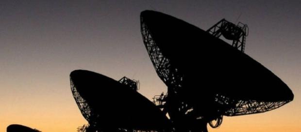 Imagens do radiotelescópio à procura de vida inteligente