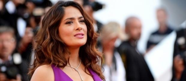 L'attrice e produttrice Salma Hayek