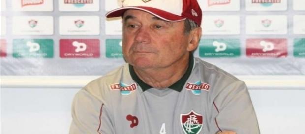 Levir confia que Fluminense possa arrancar vaga na Copa do Brasil em São Paulo (Foto: Guilherme Artigas/Agência Lancepress)