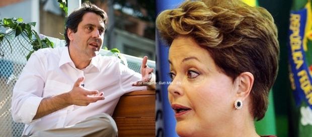 Luiz Philippe e Dilma Rousseff (Fotos: Bruno Santos/Folhapres/Reprodução)