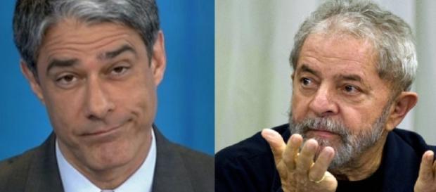 Lula ouve pedido de desculpa de Bonner