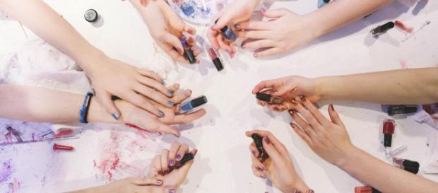 Mixify Polish gives people the chance to create their own nail polish colors. / Photo via Amy Schofield, Mixify Polish. Used with permission.