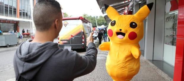 Pokémon Go aumenta vendas e shopping organiza evento