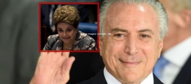 Presidente da república rebateu críticas de Dilma e seus aliados