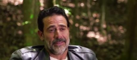 How will Rick respond to Negan's law in 'The Walking Dead?' - Photo via kmouts/Photo screencap via AMC/YouTube.com