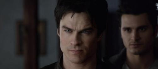 Damon's situation teased by 'The Vampire Diaries' EP - Photo via HappyCool/Photo screencap via The CW/YouTube.com