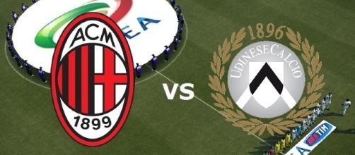 Il Milan affronta l'Udinese a San Siro.