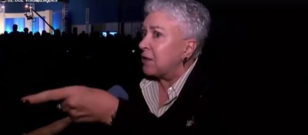 Cidinha Campos em noite de fúria