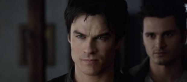 Damon's situation teased by 'The Vampire Diaries' EP - Photo via HappyCool/Photo screencap via The CW/YouTube.com