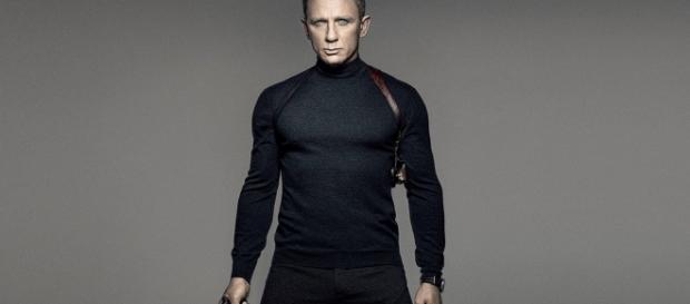 Daniel Craig, photo promotionnelle de 007 SPECTRE