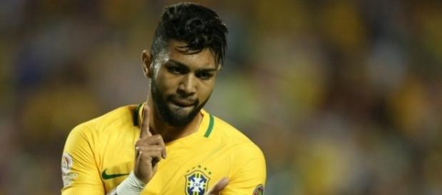 Gabigol, craque da Seleção Brasileira.