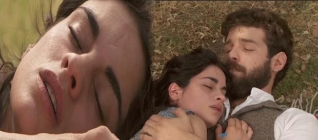 Il Segreto, trama episodio 1135: Ines si spegne tra le braccia di Bosco