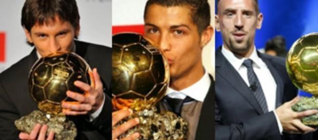 Ribery, Messi, Cristiano Ronaldo... ¿Los últimos Balones de Oro?