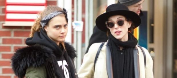 Topmodel Cara Delevigne und St.Vincent