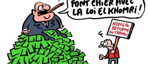 Dessin de Coco sur l'affaire des Panama's papers