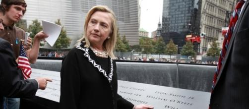 Hillary Clinton at 9/11 memorial - yournewswire.com