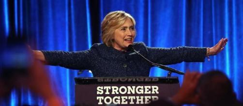 Hillary Clinton, en un discurso