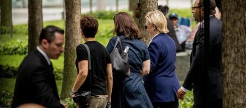 Hillary Clinton ha la polmonite